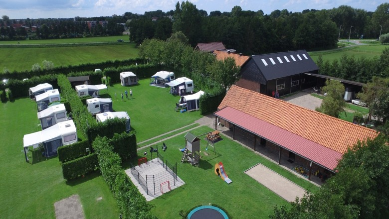 Camping de Nesse in Limmen (NH)