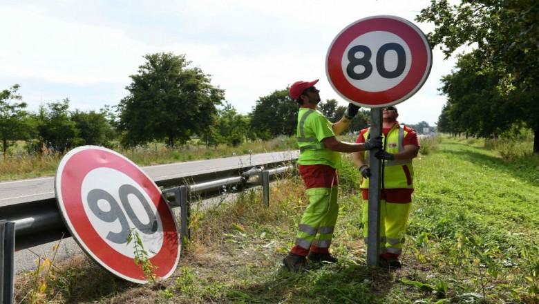 Frankrijk verlaagd maximumsnelheid