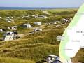 Kamperen bij de Krim op Texel