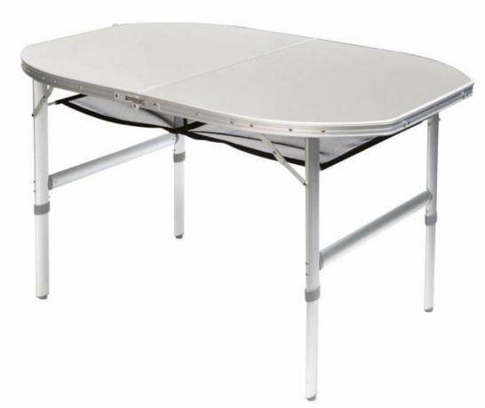 Bo Camp Aluminium Roltafel.Bo Camp Premium Tafel Ovaal Ermelo