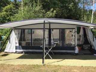 Caravan Adria Unica 502 up met bijna nieuwe voortent en mover
