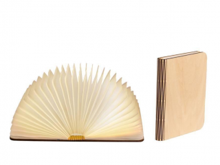 LEDR Boek Lamp Maple Small