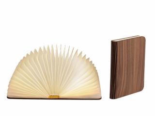 LEDR Boek Lamp Walnut Medium