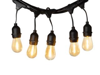 LEDR Premium Patio Lights Edison Starter kit