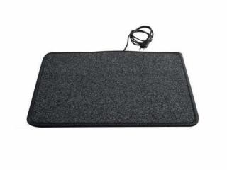 Heatek Verwarmd vloerkleed 70x60 grijs