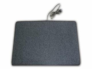 Heatek Verwarmd vloerkleed 50x40 grijs